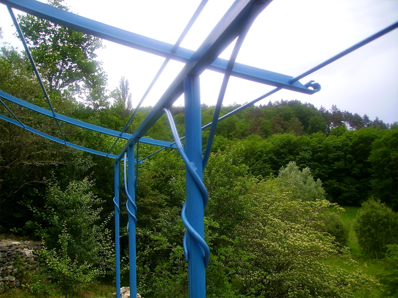 Canopy in blue