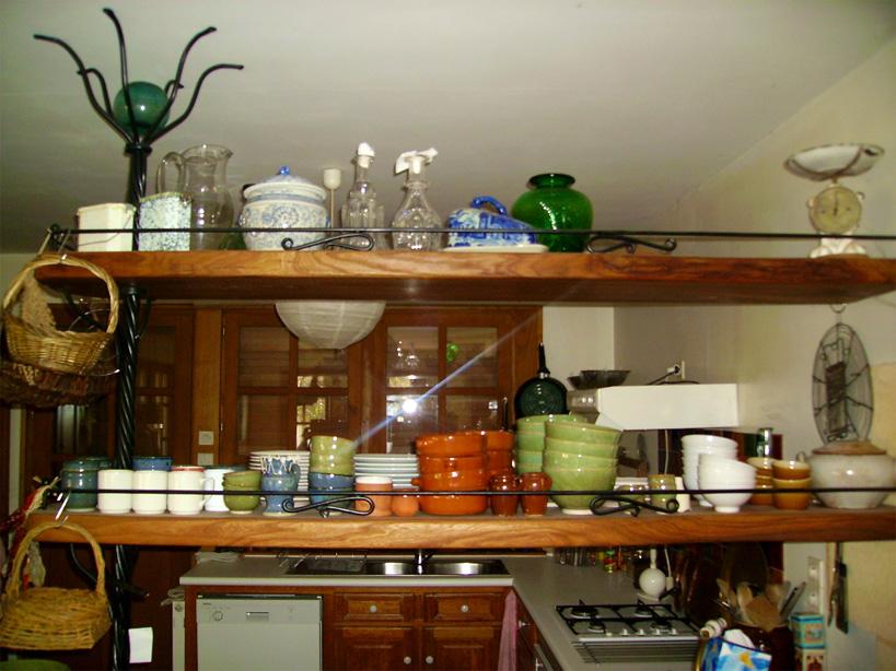 Console de cuisine pour une maison de campagne.